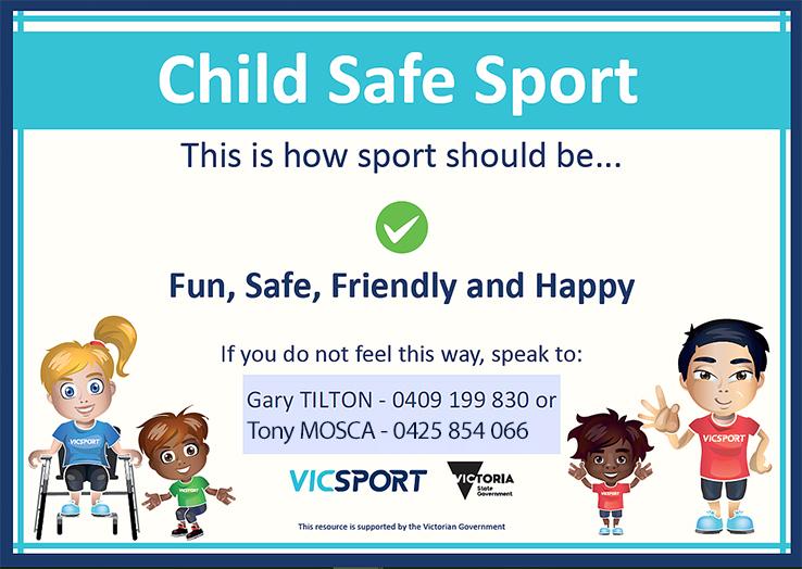 Child Safe Sport Certificate